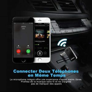 Avis test Mpow Récepteur Bluetooth 4.1 Adaptateur Bluetooth jack 1