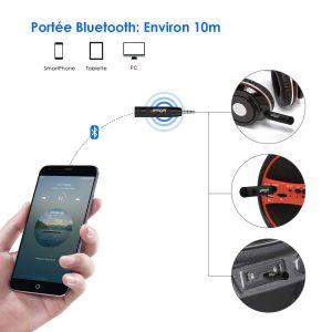 Avis test Récepteur Bluetooth 4.1 Voiture ieGeek adaptateur Bluetooth PC
