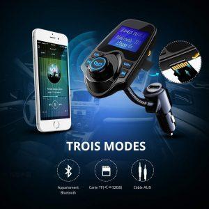 Avis test Transmetteur FM Bluetooth VicTsing adaptateur Bluetooth voiture