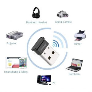 Whitelabel Émetteur et Récepteur Bluetooth adaptateur Bluetooth clé USB 2